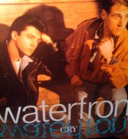 My copy of Waterfront's Cry single